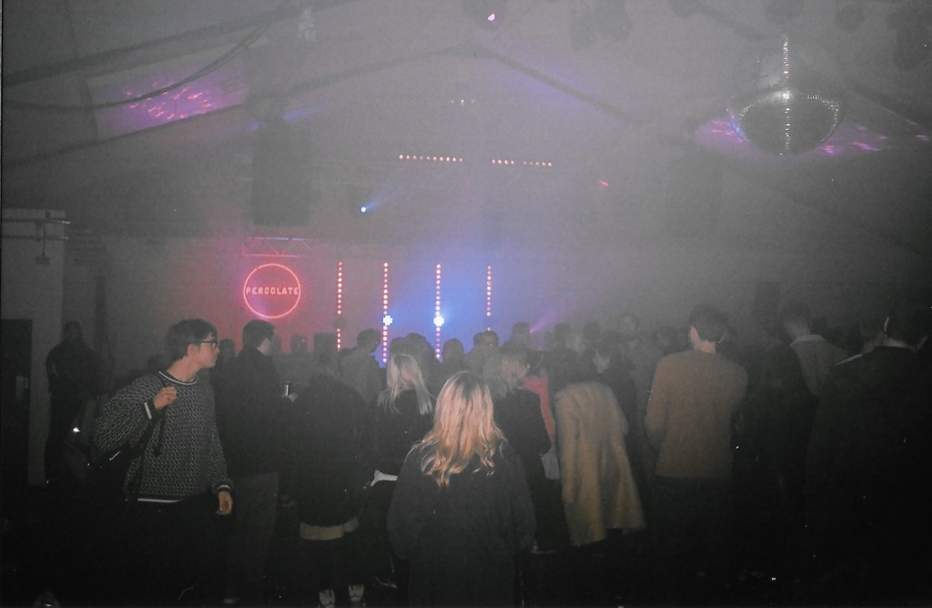 Hazy crowd percolate x mind oval space