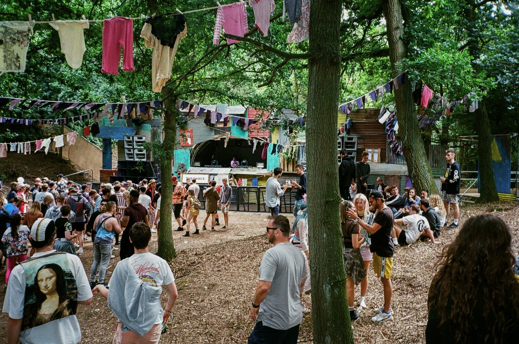 The Shack Stage at Farr Festival 2016, earlier in the day before the madness ensued