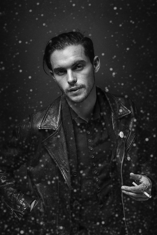 Dylan Rieder gazing off into the galaxy