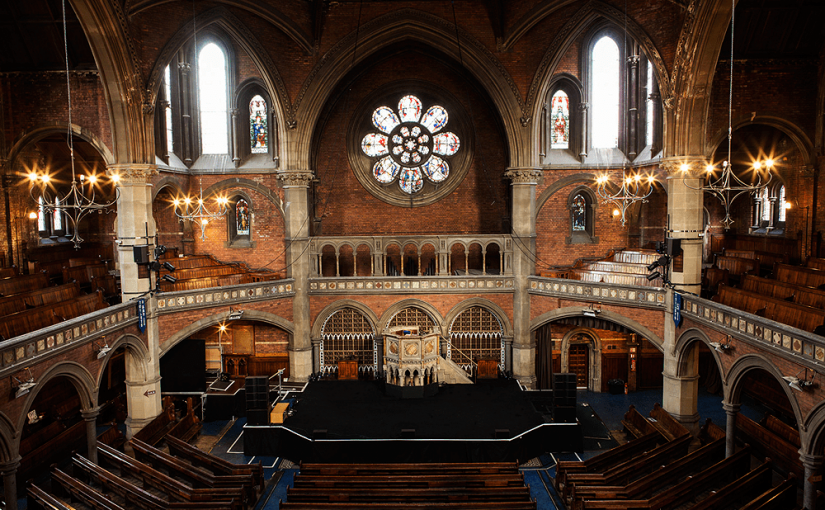 Krankbrother take over The Union Chapel for a series of sonic excursions