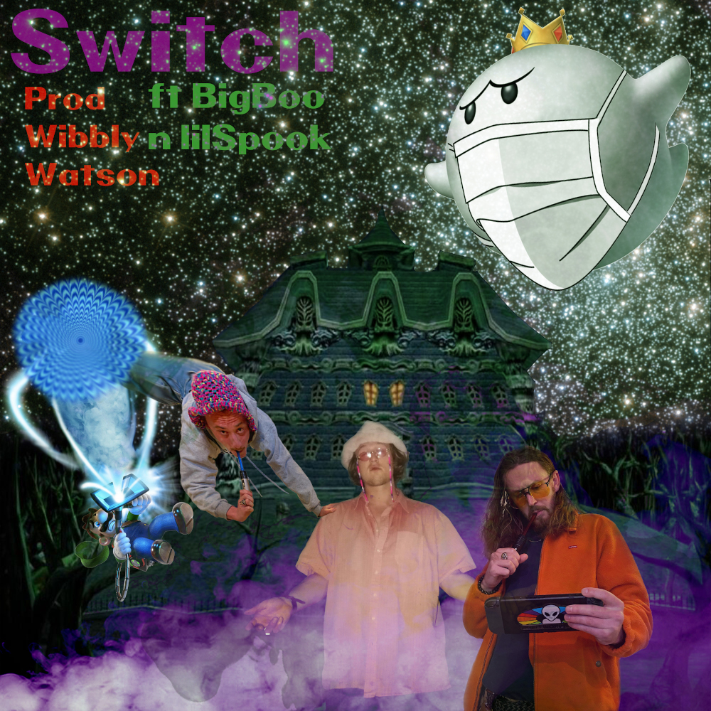 stonedskepticz switch luigis mansion sucking up those phantoms